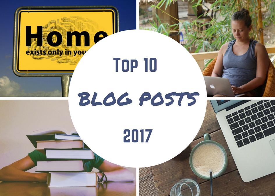 Meine 10 beliebtesten Blogartikel aus 2017