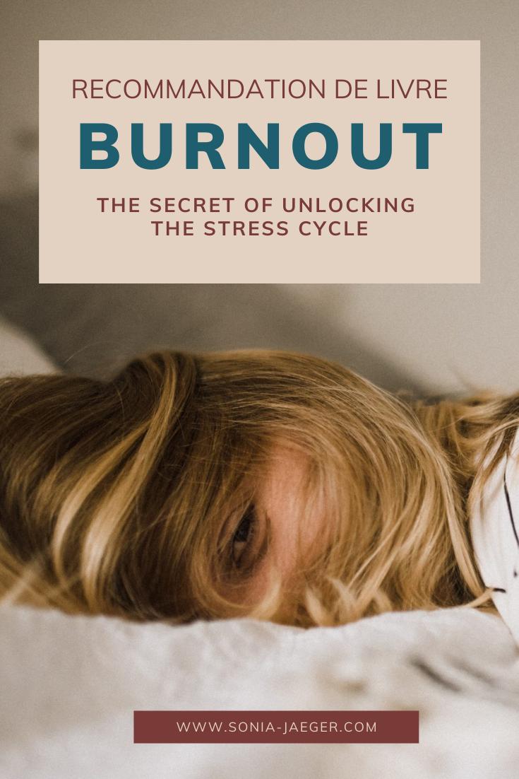 Recommandation de livre : Burnout